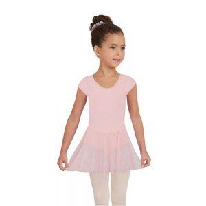 Dansdräkt/klänning med kort ärm 3966C Capezio
