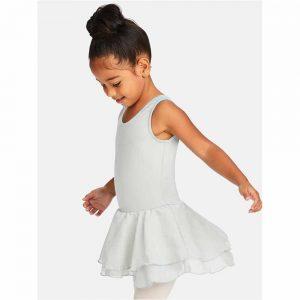 Dansdräkt/klänning med kjol i två lager CC877C Capezio