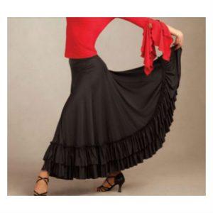 Flamencokjol FLM101 Capezio